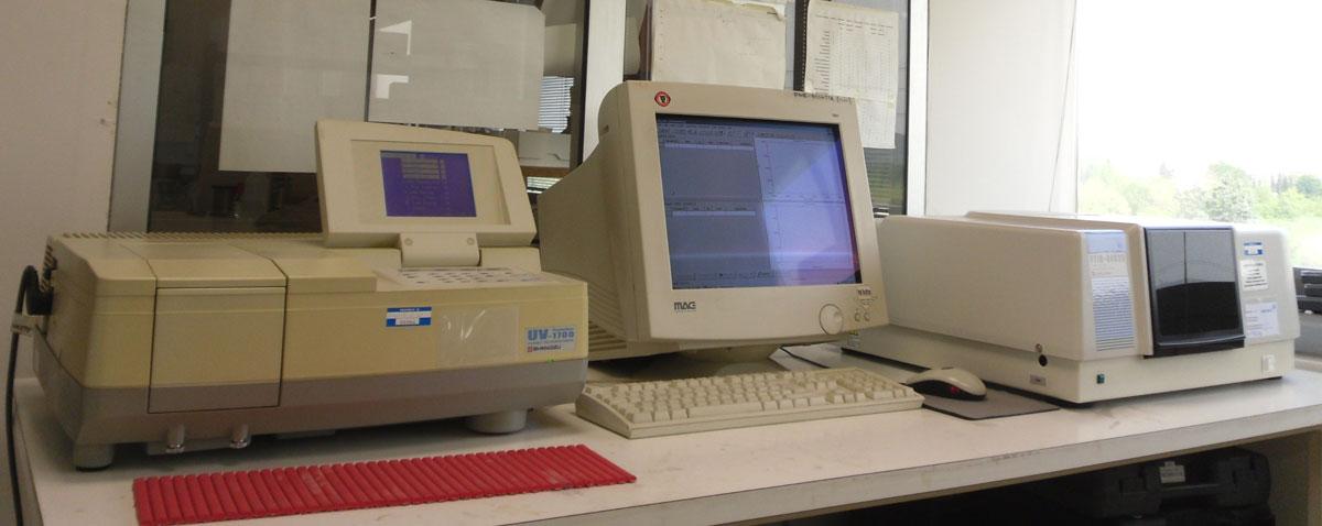 Spettrometro UV VIS-SHIMADZU-UV-1700